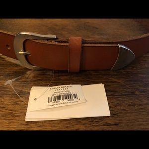 Banana Republic leather belt Large